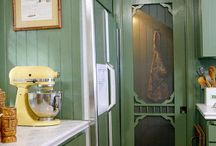 farmhouse kitchen / by Melanie Gordon