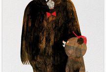 Bear Necessities / bear illustrations / by Meghan Meyer