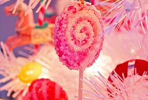 Candyland Christmas ideas / In love with pink   ~how about a candyland tree with lollipops, cupcakes, assorted candies and lots of Pink!!! / by Stephanie Rodriguez