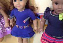 BellaRose hearts her dolls / by Jamie Cardinal