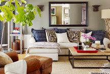 Living Room / Living Room Decor Ideas, Interior Design / by Jessica Reiss