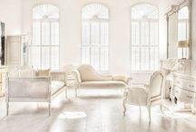 White Interiors / by Preciously Me
