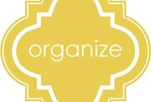 Get Organized / Decluttering/simplifying, clever storage ideas, time management techniques. That's what you'll find here. On my Pinterest board that is. My home? It's a work in progress... / by Debbie Aldridge