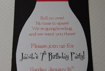 Bowling Party Ideas / by Amber Ehlers