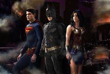 SUPER HEROS & VILLANS / Characters I like. Great Fan Art. / by Vicky Mendez