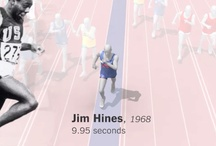 116 Years Of Olympic Sprinters / Usain Bolt vs. 116 years of Olympic sprinters http://t.co/lbRAuTkI - #olympics2012  [interactive timeline] / by Randy Schilling