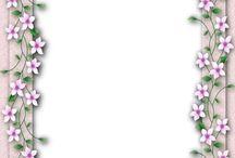 Digi PSP ℗ Frames rough inner edge Journal Stationary / by Lisa BWD