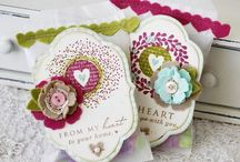 Paper crafting projects:  gift bags, treat bags, boxes, tags / by Denise Cremer