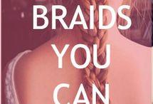Braids & buns. / by Cara Brook