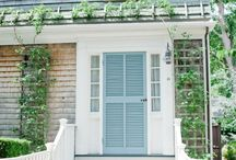 Front doors / by kellydesignsofCT