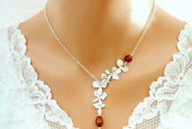 Inspiration : Holiday Party in Red with Pearls / by Brenda of Brenda's Wedding Blog