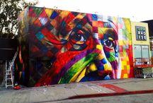 Murals / by Hookedblog Street Art