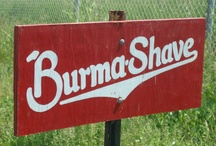 Burma-Shave / How cool would it be to plana road trip along Route 66 and stop at every single Burma-Shave sign along the way - #bucketlist #burmashave / by Toyota of Watertown