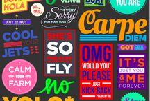 Graphic Design / stuff i dig / by Yoreganics