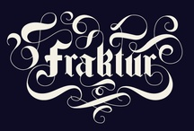 TYPOGRAPHY / by Carolyn Sewell