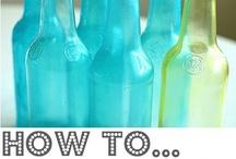 Tinting Bottles  Jars Tutorial / by Teresa Johnson Paul