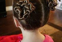 Girly Hair Do's  / by Maria Buckman