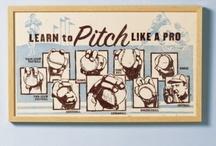 Take me out to the ballgame! / by Kathleen Sadrin