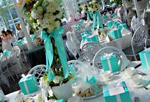 Breakfast at Tiffany's Inspired Wedding / by Cloud Nine Events & Accessories