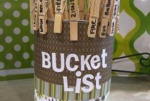 Bucket List :-) / by Sylvia Hunts
