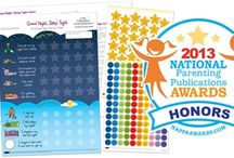 Toddler Bedtime Routines / A reward chart that is designed  to help parents with developing a healthy bedtime routine. Tips and guidelines are included. / by Victoria Chart Company