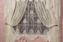 Shabby Chic / Beautiful Shabby Chic Curtains / by Diana Selby