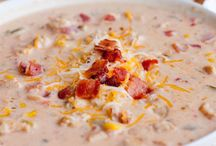 Soups / by Melissa Gentz