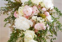 Bridal Wedding Bouquets / by Li'l Inspirations - Wedding Handkerchiefs Custom Made Personalized