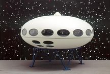 Futuro House / Modular construction fibreglass transportable house designed by Mika Taanila. I visited one when it was brand new. / by Graeme MacDonald