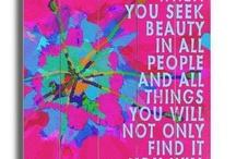 Inspirational Quotes / by Ellen van der Molen