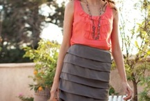 grey and coral design crush / by Tatertots and Jello .com