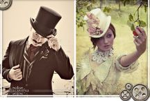 Weddings - Steampunk / Weddings that are Steampunk or Victorian #seattle-wedding-photographer #duttaphotography #seattle #photographer  / by Luna Anne