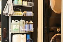 Laundry room / Organization  / by Amy Blair