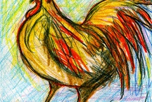 Roosters / by Sandy Mannix