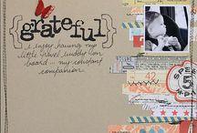 scrapbook pages / by Avril Smyth
