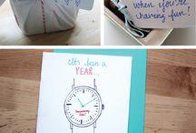 Anniversary gift ideas / by April Bennett