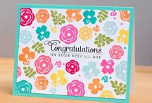 Congratulations Card Inspiration / by Patty Albertson