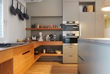 Renovation inspiration / Kitchens for real cooking / by Stuart Dooley