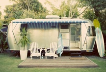 Airstreams ... Totally my American Dream camper / by Angelica McInturff Markland