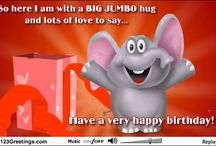 Happy Birthday E-Cards / by Kathleen Moriarty