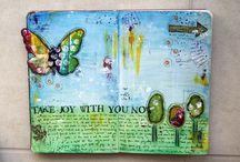 artjournaling / by Leedy Wonderland