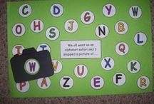 Alphabet Ideas / by Colette Klein