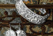 Silpada / .925 Sterling Silver & KR, the Fierce Fashion Brass & Swarovski  crystals... / by Karla Isbell