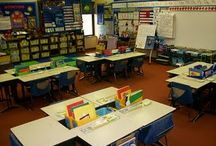 Classroom Set-Up - Desk Arrangements / Ways to switch up classroom seating throughout the year you encourage various forms of learning (ie: group work, individual work, tests, partners) / by Kimberlyn Thompson
