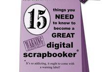 Digital Scrapbooking / by Kelly Blackett
