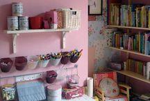 kids craft room / by Jennifer Nagle