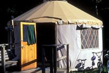 Cabins & Outdoor living / by Cheri Mauss