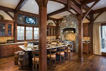 Kitchen Dreams / by Woodhouse Timber Frame