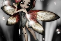 Cartoons, Fairies or Angels & More / anything magical, mythical, or fun:) / by Sherri Noel