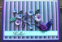 quilling cards etc / by Linda Maitland